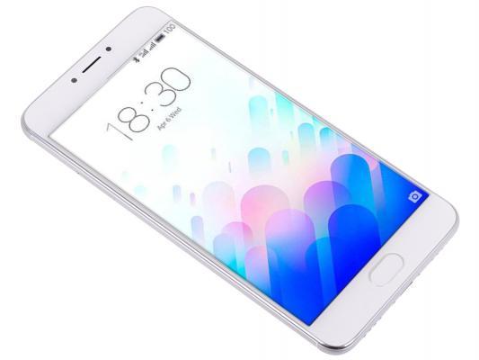 """Смартфон Meizu M3 Note серебристый белый 5.5"""" 16 Гб GPS Wi-Fi L681H"""
