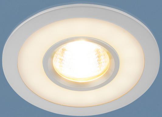 Встраиваемый светильник с двойной подсветкой Elektrostandard 1052 MR16 CH хром 4690389061967