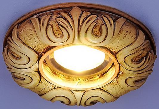 Встраиваемый светильник с двойной подсветкой Elektrostandard 3020 белая подсветка 4690389030475