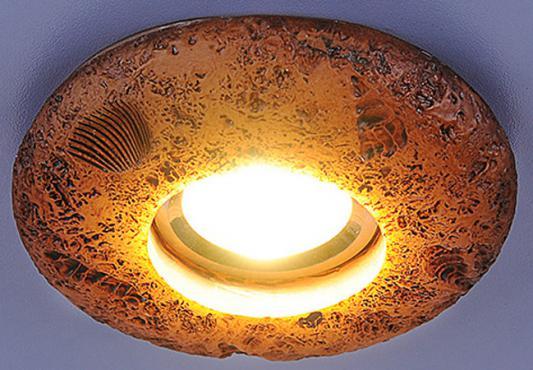 Встраиваемый светильник с двойной подсветкой Elektrostandard 3060 желтая подсветка 4690389030550