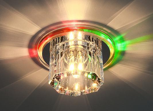 Встраиваемый светильник с двойной подсветкой Elektrostandard N4/A G4 Multi мульти 4690389003158
