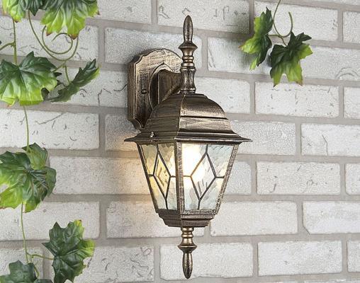 Уличный настенный светильник Elektrostandard Vega 4690389012327
