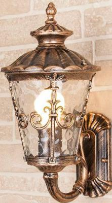 Уличный настенный светильник Elektrostandard Diadema 4690389042904 elektrostandard светильник уличный настенный elektrostandard diadema u glyf 8046u черное золото 4690389042904