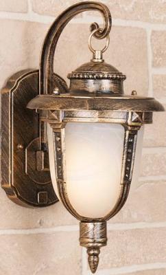 Уличный настенный светильник Elektrostandard Atlas GLYF-2010D 4690389042751 elektrostandard лампа светодиодная elektrostandard свеча на ветру сdw led d 6w 3300k e14 4690389085505