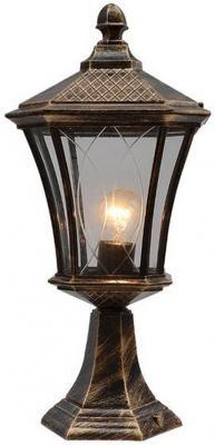 Уличный светильник Elektrostandard Virgo S черное золото 4690389064920
