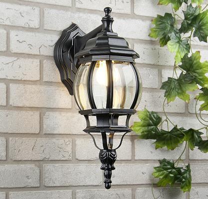 Уличный настенный светильник Elektrostandard 1001D черный 4690389076015