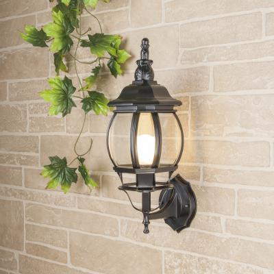Уличный настенный светильник Elektrostandard 1001U черный 4690389073755