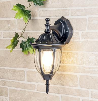 Уличный настенный светильник Elektrostandard 1002D черный 4690389076077 elektrostandard лампа светодиодная elektrostandard свеча на ветру сdw led d 6w 3300k e14 4690389085505