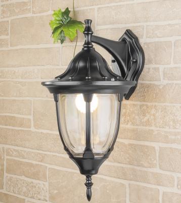 Уличный настенный светильник Elektrostandard 1003D черный 4690389076091