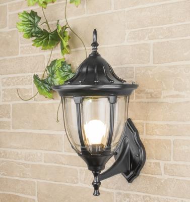 Уличный настенный светильник Elektrostandard 1003U черный 4690389076114