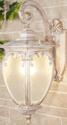 Уличный настенный светильник Elektrostandard Andromeda D GLYF-8024D белое золото 4690389062070 elektrostandard подвесной уличный светильник elektrostandard andromeda h glyf 8024h белое золото 4690389062087