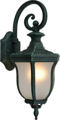 Уличный настенный светильник Elektrostandard Taurus D малахит 4690389065019