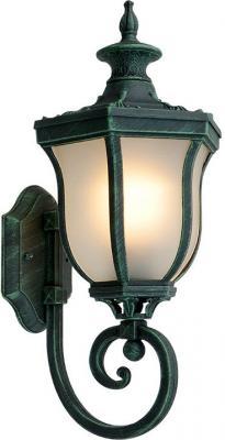 Уличный настенный светильник Elektrostandard Taurus U малахит 4690389065118