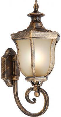Уличный настенный светильник Elektrostandard Taurus U черное золото 4690389065125
