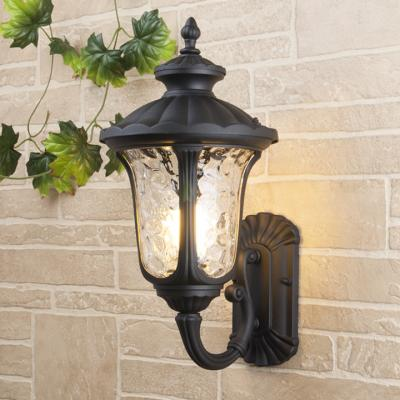 Уличный настеный светильник Elektrostandard Carina U GLYF-1452U черный 4690389063169