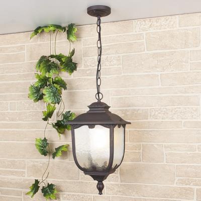 Уличный подвесной светильник Elektrostandard Sculptor H капучино 4690389064678