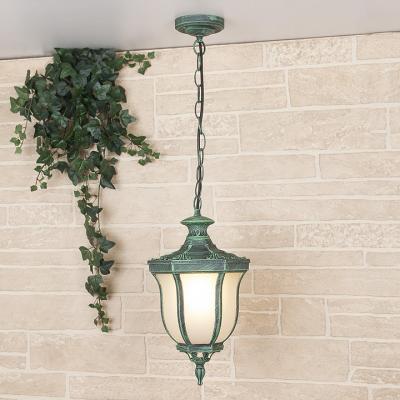 Уличный подвесной светильник Elektrostandard Taurus H малахит 4690389065071