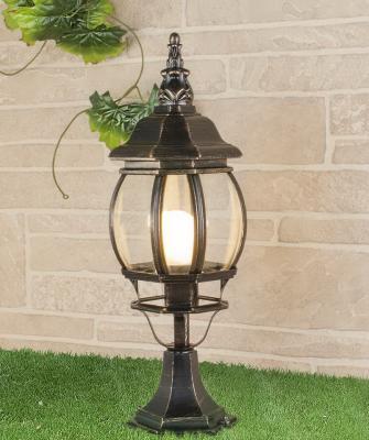 Уличный светильник Elektrostandard 1001S черное золото 4690389076046