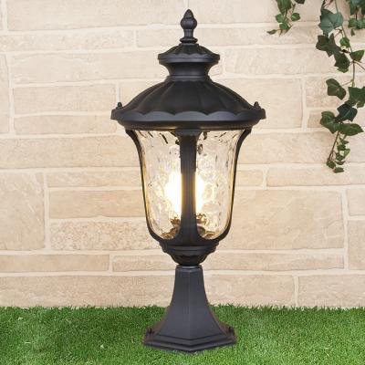 Уличный светильник Elektrostandard Carina S GLYF-1452S черный 4690389063145