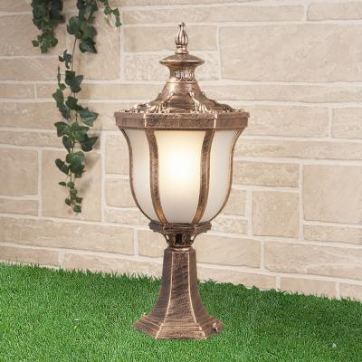 Уличный светильник Elektrostandard Taurus S черное золото 4690389065101