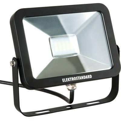 Прожектор светодиодный Elektrostandard Slus LED 20W 6500К 4690389067495 elektrostandard лампа светодиодная elektrostandard свеча на ветру сdw led d 6w 3300k e14 4690389085505