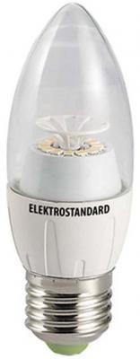 Лампа светодиодная свеча Elektrostandard 12SMD CR E27 6W 4200K 4690389054648