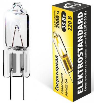 Лампа галогенная капсульная Elektrostandard G4 35W 4690389013645