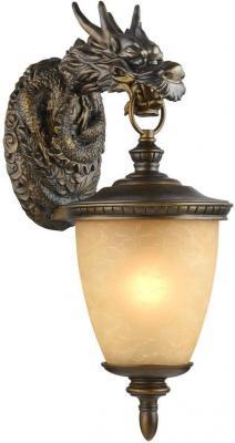 Уличный настенный светильник Favourite Dragon 1716-1W серьги с кошачьим глазом лель снкг 1716