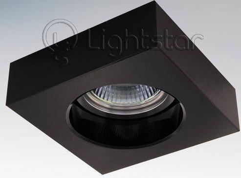 Встраиваемый светильник Lightstar Black 006127
