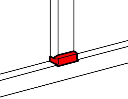 Т-отвод для кабель-канала Legrand 10737