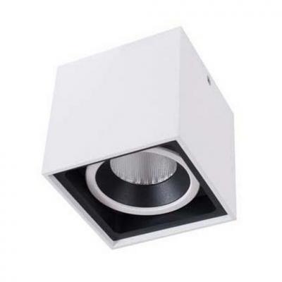Потолочный светильник Donolux DL18415/11WW-SQ White/Black Dim потолочный светильник donolux dl18415 11ww sq white black