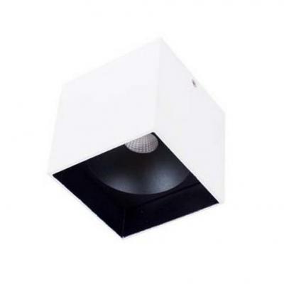 Потолочный светильник Donolux DL18416/11WW-SQ White/Black потолочный светильник donolux dl18416 11ww r black white