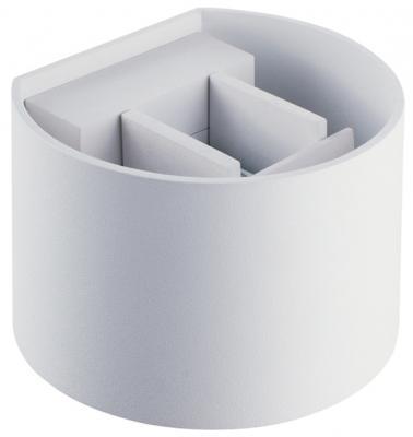 Уличный настенный светильник Donolux DL18406/12WW-White накладной светильник donolux dl18406 12ww white