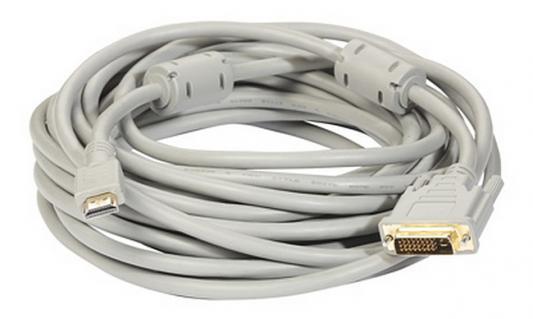 Кабель HDMI-DVI 5.0м Exegate EX191103RUS