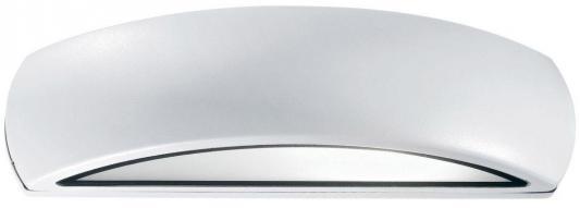 Уличный настенный светильник Ideal Lux Giove AP1 Bianco ideal lux настенный спот ideal lux zenith ap1 bianco