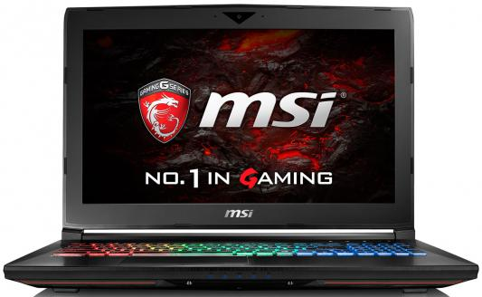 "Ноутбук MSI GT62VR 6RE Dominator Pro Core i7 6820HQ/16Gb/1Tb/SSD256Gb/nVidia GeForce GTX 980M/15.6""/FHD (1920x1082)/Windows 10/black/WiFi/BT/Cam"