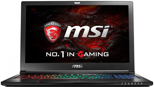 "Ноутбук MSI GS63VR 6RF-048RU Stealth Pro 15.6"" 1920x1080 Intel Core i7-6700HQ 9S7-16K212-048"