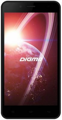 Смартфон Digma Linx C500 3G черный 5 4 Гб Wi-Fi GPS 3G LT5001PG смартфон micromax a107 cosmic grey 4 5 8 гб wi fi gps 3g 4 5 2sim 8гб gps wi fi 3g android 5 0 2000 ма ч