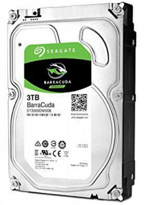 "Жесткий диск 3.5"" 3 Tb 7200rpm 64Mb cache Seagate Barracuda SATAIII ST3000DM008"