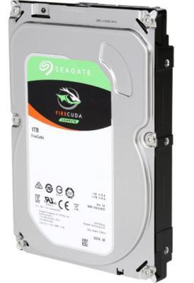 """Жесткий диск 3.5"""" 1Tb 7200rpm 64Mb cache Seagate Firecuda SATAIII ST1000DX002"""