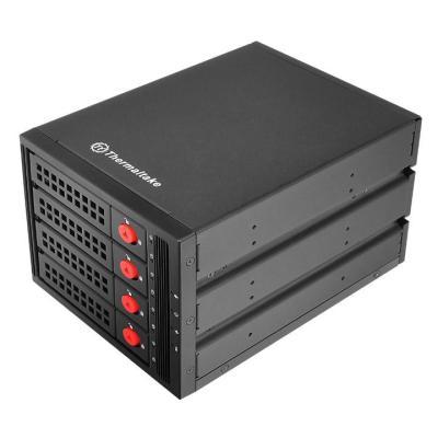 """все цены на Внешний контейнер для HDD 3.5"""" SATA Thermaltake Max 3504 ST-007-M31STZ-A2 SATA I/II/III/SAS металл черный"""