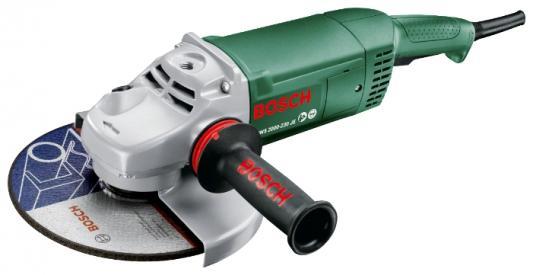 Угловая шлифмашина Bosch PWS 2000-230 JE 2000Вт 230мм