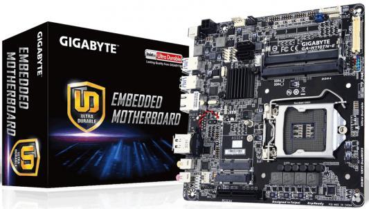 Мат. плата для ПК GigaByte GA-H110TN-E Socket 1151 H110 2xDDR4 1xPCI-E 4x 2xSATAIII mini-ITX
