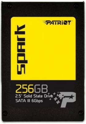 Твердотельный накопитель 2.5 256GB Patriot Spark Read 560Mb/s Write 545Mb/s SATAIII PE000415-PSK256GS25SSDR твердотельный накопитель 2 5 128gb patriot spark read 560mb s write 545mb s sataiii psk128gs25ssdr