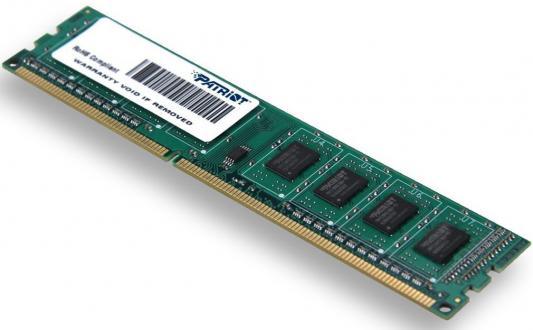 Оперативная память 4Gb PC3-10600 1333MHz DDR3 DIMM Patriot PSD34G13332