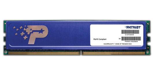 Оперативная память 4Gb PC3-12800 1600MHz DDR3 DIMM Patriot PSD34G16002H