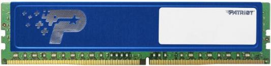 Оперативная память 4Gb PC4-19200 2400MHz DDR4 DIMM Patriot PSD44G240081H цена и фото