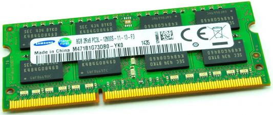 Оперативная память для ноутбуков SO-DDR3 8Gb PC12800 1600MHz Samsung M471B1G73DB0-YK0