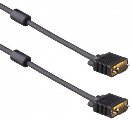 Кабель VGA 5.0м позолоченные контакты Exegate EX138950RUS