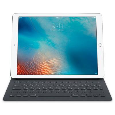чехол клавиатура apple smart keyboard для ipad pro 12 9 Клавиатура беспроводная Apple Smart Keyboard for 12.9-inch iPad Pro черный MNKT2RS/A